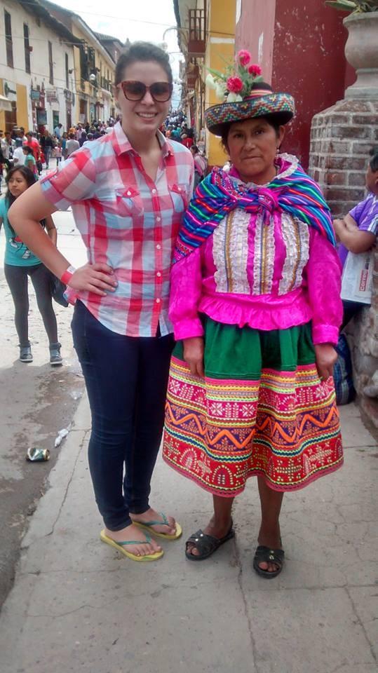 Senicanka Nika v Peru-domorodci