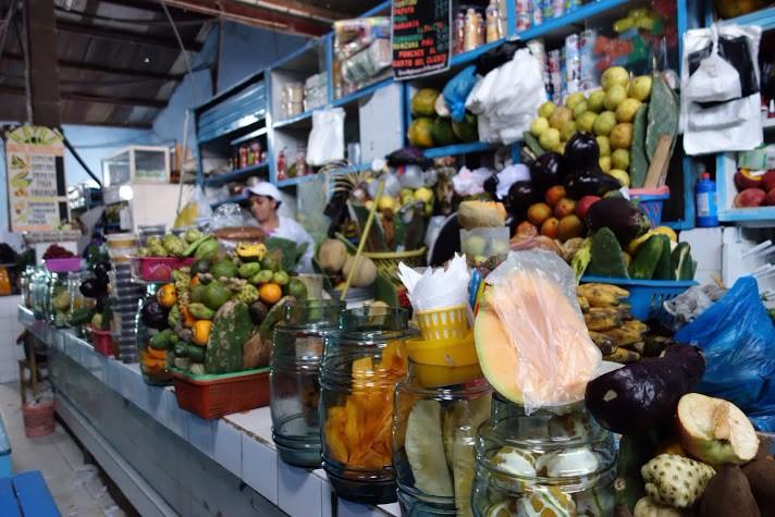 Senicanka Nika v Peru-gastronomia