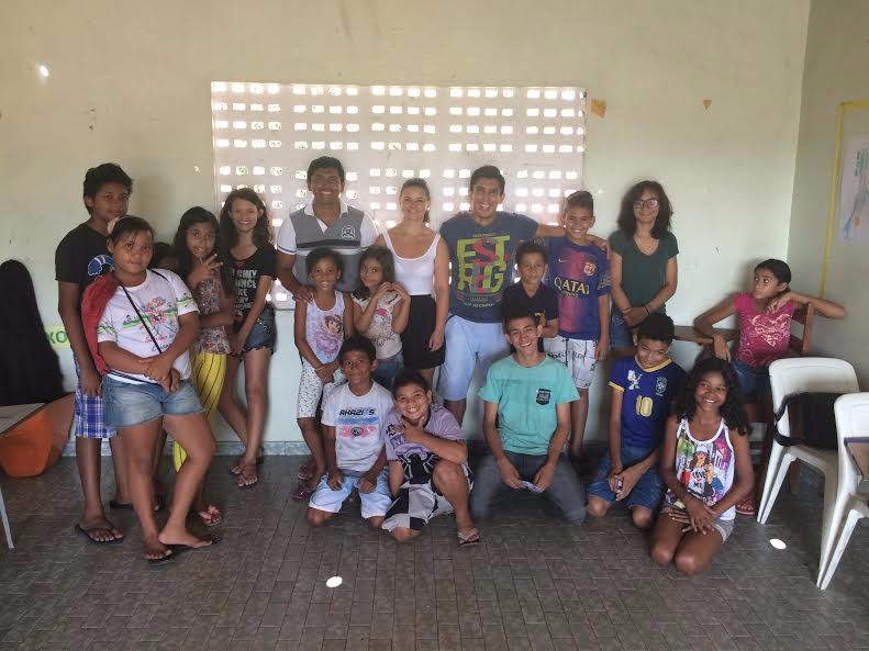 Senicanka Lucka dobrovolnictvo v Brazilii