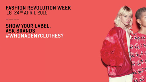 Fashion Revolution Day 2016 Senica