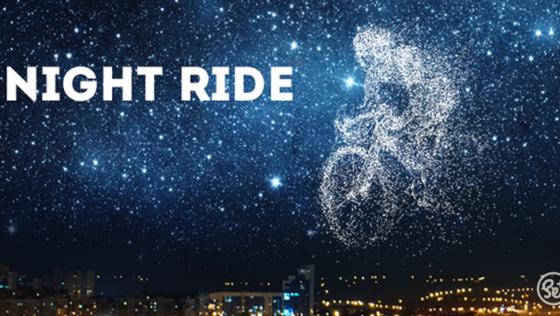 NIGHT RIDE – Bicyklom nočnou Senicou