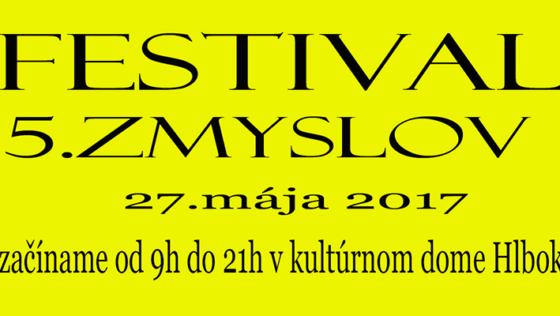 Festival 5. zmyslov