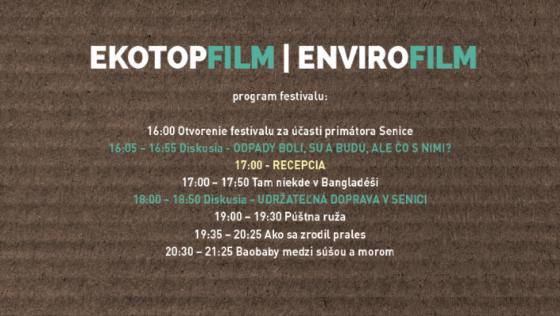 Filmový festival Ekotopfilm – Envirofilm