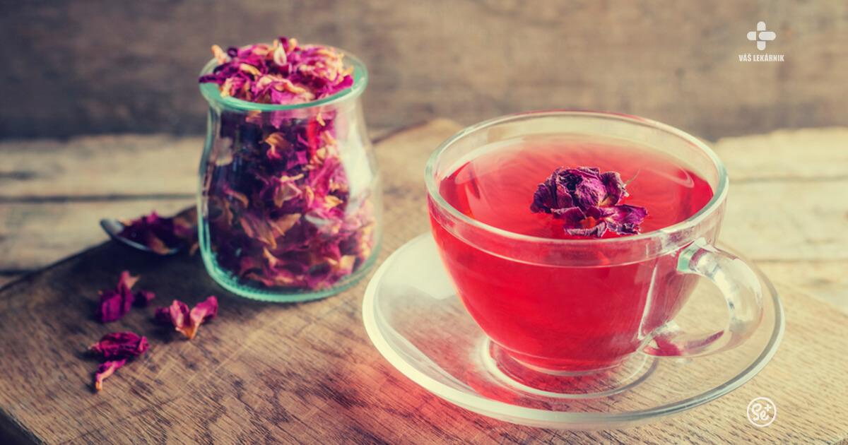 Čaj. Rosa z nebies.