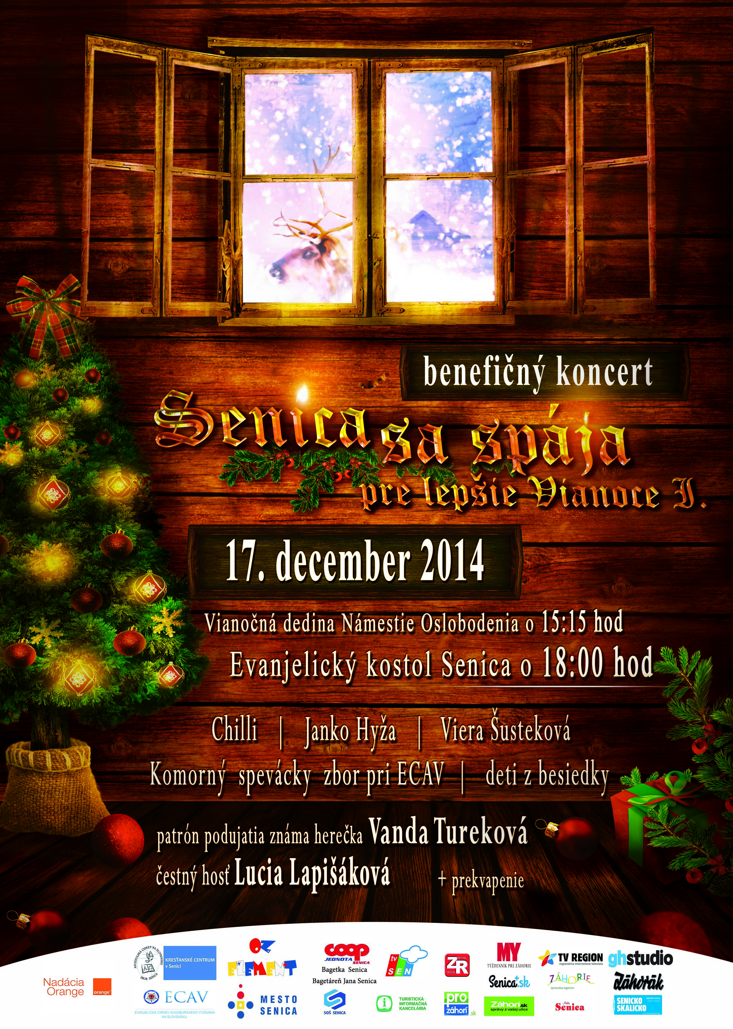Christmas journey - event flyer/poster template