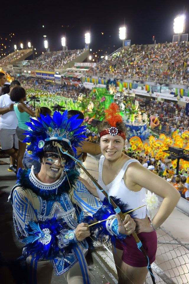 Senicanka Nika v Brazilii