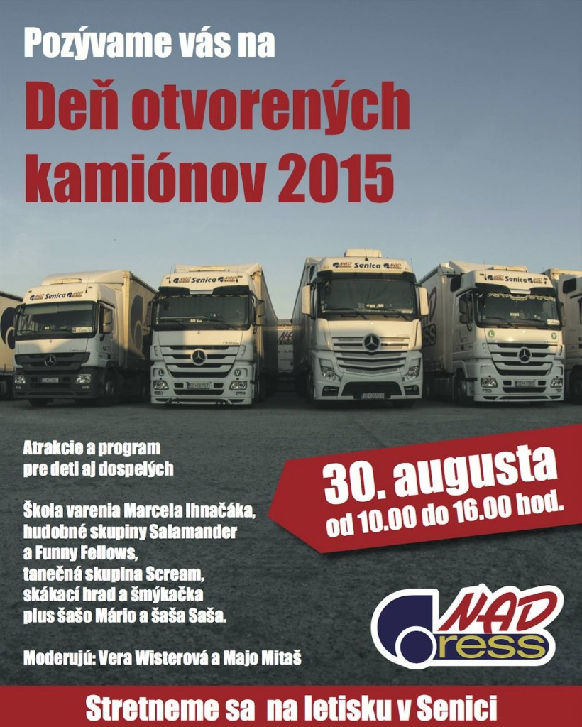 Den otvorenych kamionov Senica