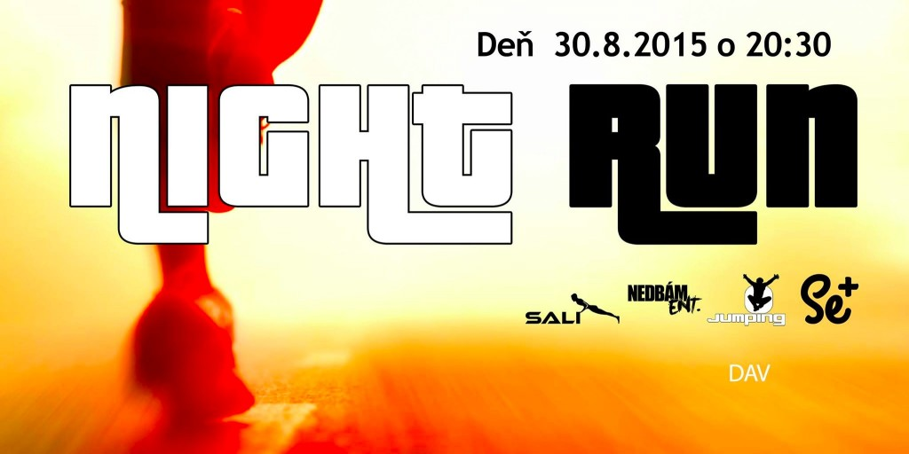 Night Run Senica 30.8.2015