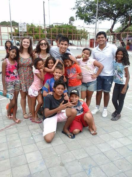 Senicanka Lucka dobrovolnictvo Fortaleza