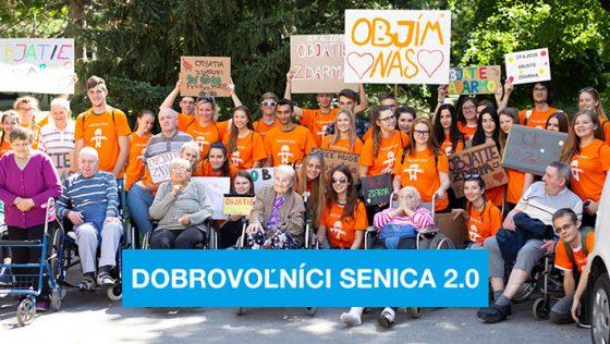 Darujte 2% dobrovoľníkom zo Senica 2.0