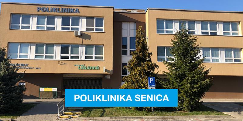 Poliklinika Senica vchod