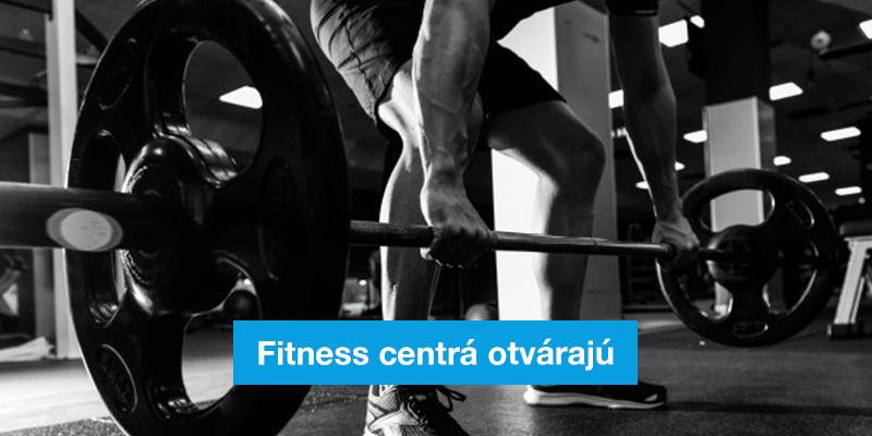 Fitness centrá v Senici otvárajú svoje brány