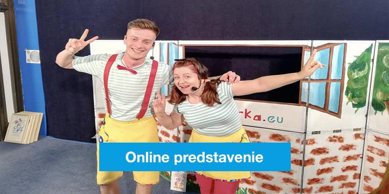 Online predstavenie s Fifom a Vierkou